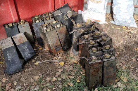 В Батайске за кражу аккумуляторных батарей задержаны работники железнодорожной организации